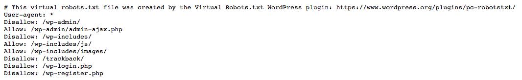 fichier virtuel géré par le plugin Virtual Robots